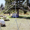 Construction of the geodesic dome